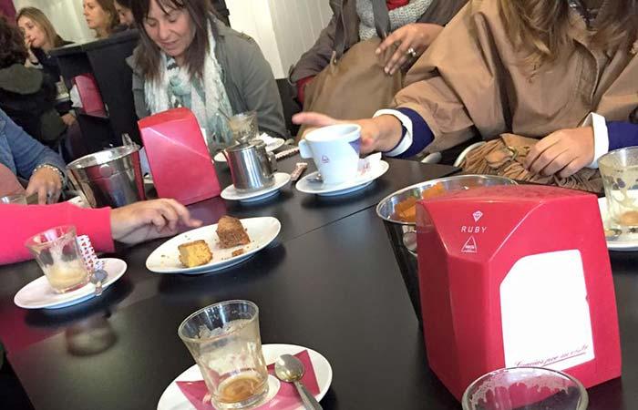 Café e ideas en A Chocolateira