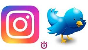 Novedades en Twitter e Instagram